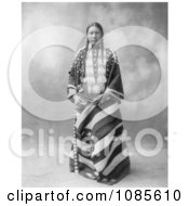 Lucy Red Cloud Sioux Indian Free Historical Stock Photography