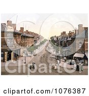 Lumley Road In Skegness East Lindsey Lincolnshire England United Kingdom Royalty Free Stock Photography by JVPD