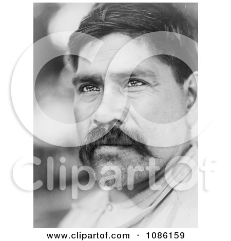 Maidu Native American Man - Free Historical Stock Photography by JVPD