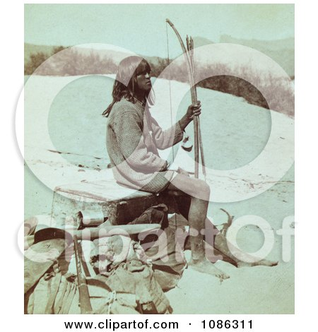 Maiman, Mohave Indian - Free Historical Stock Photography by JVPD