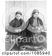 Makah Indian Basket Weavers Free Historical Stock Photography by JVPD
