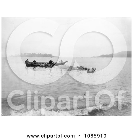 Makah Indian Whalers - Free Historical Stock Photography by JVPD