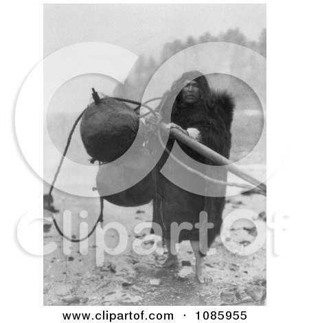 Makah Whaler - Free Historical Stock Photography by JVPD