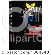 Man Singing On Stage Free Stock Photography