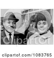 Martin Luther And Coretta Scott King Historical Stock Photography