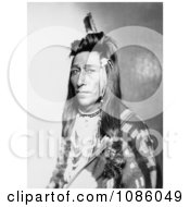Measaw A Shoshone Indian Free Historical Stock Photography by JVPD