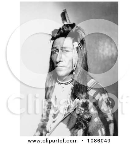 Measaw, a Shoshone Indian - Free Historical Stock Photography by JVPD