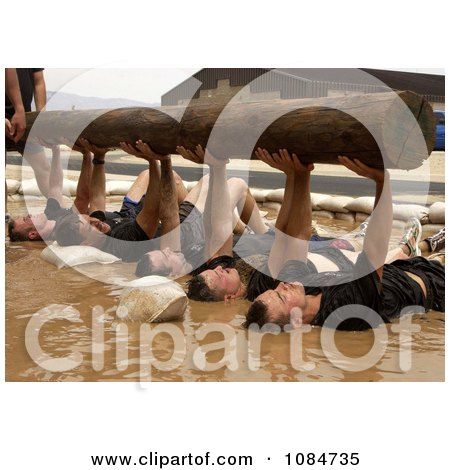 Men Lifting a Wooden Log - Free Stock Photography by JVPD