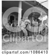 Men Standing Around Fourth Of July 1934 Free Historical Baseball Stock Photography by JVPD