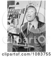 MLK At A Press Conference Historical Stock Photography