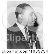 MLK In Profile Historical Stock Photography