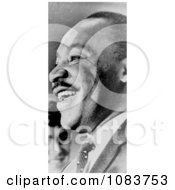 MLK Smiling Historical Stock Photography