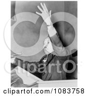 MLK Speaking At A Freedom Rally Historical Stock Photography
