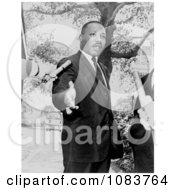 MLK Speaking To The Press Historical Stock Photography
