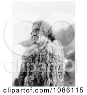 Mohave Man Wearing Rabbit Skin Free Historical Stock Photography by JVPD