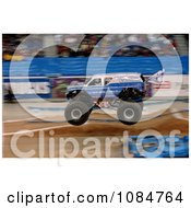 Monster Truck Afterburner Free Stock Photography