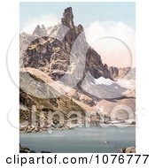 Mt Surlon And Sorapiss Tyrol Austria Royalty Free Stock Photography