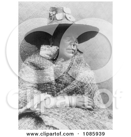 Nakoaktok Woman - Free Historical Stock Photography by JVPD
