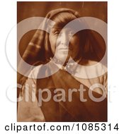 Native American Acoma Woman Free Historical Stock Photography by JVPD