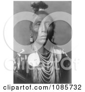 Native American Man Called Medicine Crow Free Historical Stock Photography