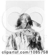 Native American Man Chief Revenger Free Historical Stock Photography