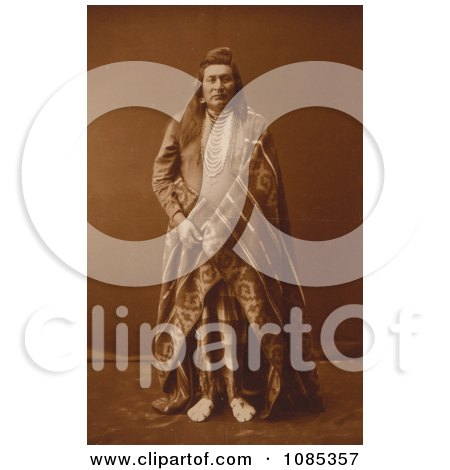 Nez Perce Man - Free Historical Stock Photography by JVPD
