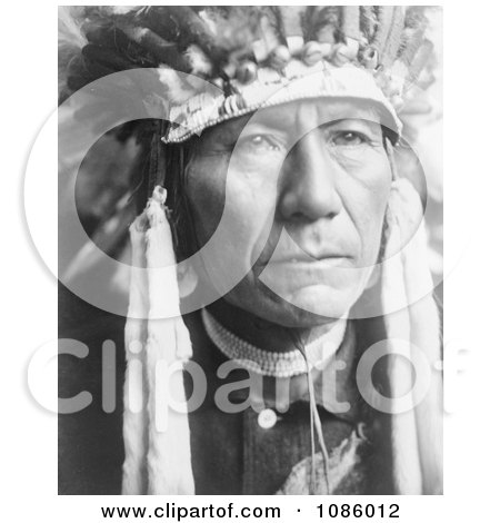 Nez Perce Man - Free Historical Stock Photography by JVPD