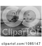Oil Tanker USS Neosho During Attack On Pearl Harbor Free Stock Photography