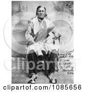 Osage Indian Chief Peter Bighart Free Historical Stock Photography