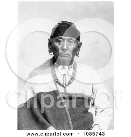Osage Indian Named Bear Legs - Free Historical Stock Photography by JVPD
