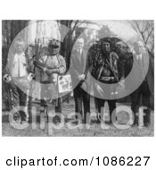 Osage Indians Free Historical Stock Photography by JVPD