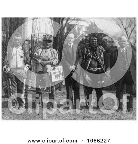 Osage Indians - Free Historical Stock Photography by JVPD