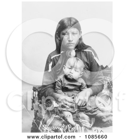Osage Mother and Child - Free Historical Stock Photography by JVPD