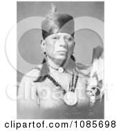 Osage Native American Chief Called Bacon Rind Free Historical Stock Photography