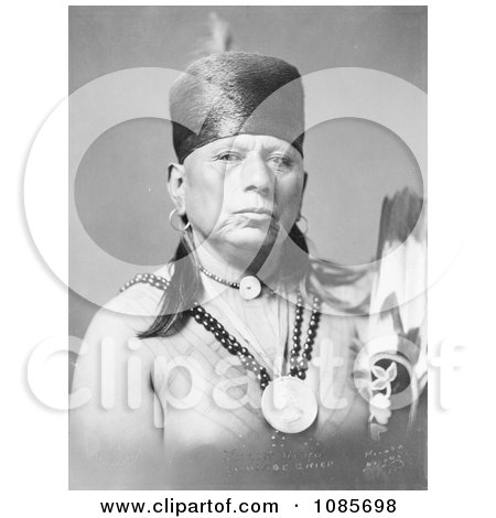 Osage Native American Chief Called Bacon Rind - Free Historical Stock Photography by JVPD
