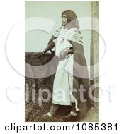 Pah Ge A Ute Woman Free Historical Stock Photography