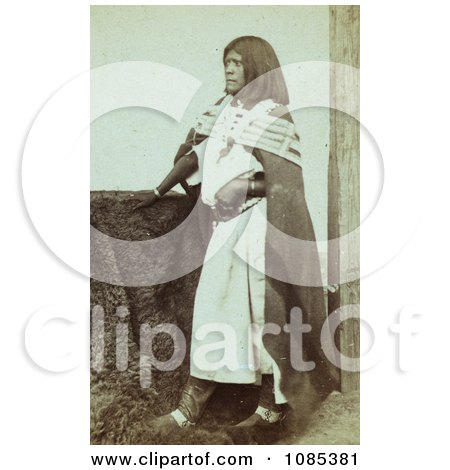 Pah-ge, a Ute Woman - Free Historical Stock Photography by JVPD