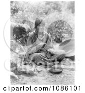 Paiute Basket Maker Free Historical Stock Photography