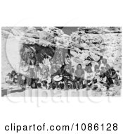 Paiute Indian Group Free Historical Stock Photography by JVPD