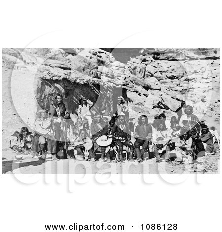 Paiute Indian Group - Free Historical Stock Photography by JVPD