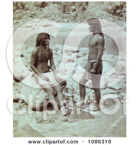 Panambona and Mitiwara, Mohaves - Free Historical Stock Photography by JVPD
