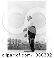 Paul Robeson Playing Baseball Free Historical Baseball Stock Photography by JVPD