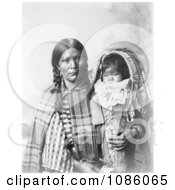 Pee A Rat Holding Baby Free Historical Stock Photography