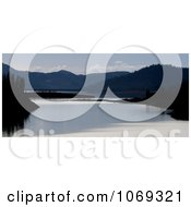 Photo Of Sundown At Lost Creek Reservoir Oregon Royalty Free Landscape Stock Photography