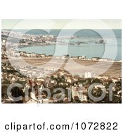 Photochrom Of Algiers Algeria As Seen From Mustapha Royalty Free Historical Stock Photography by JVPD