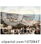 Photochrom Of Algiers Algeria Royalty Free Historical Stock Photography by JVPD