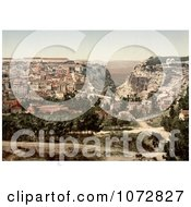 Photochrom Of Constantine Algeria Royalty Free Historical Stock Photography