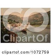 Photochrom Of Eide Hardanger Norway Royalty Free Historical Stock Photography