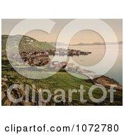 Photochrom Of Hammerfest Norway Coastline Royalty Free Historical Stock Photography