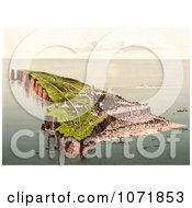 Photochrom Of Helgoland Heligoland Germany Royalty Free Historical Stock Photo by JVPD